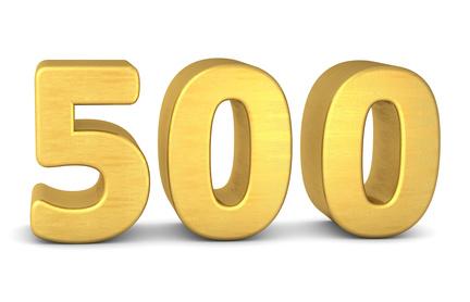 zahl cipher 500 gold vertikal