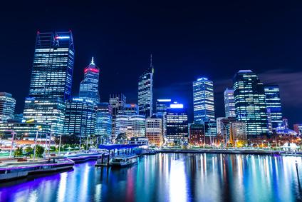 夜景 パース 西オーストラリア