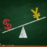 円高ドル安のイメージ